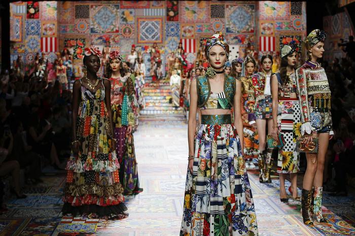 Sicilia Patchwork per Dolce & Gabbana