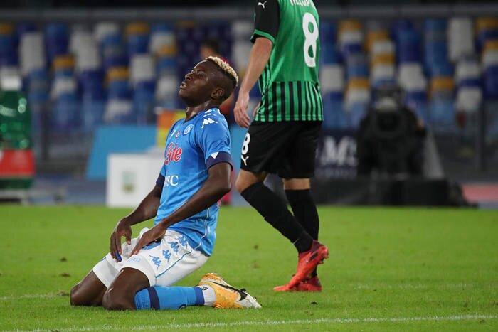 Calclo: colpo del Sassuolo al S. Paolo, 0-2
