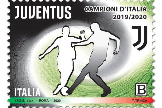 Calcio: un francobollo per i Campioni d'Italia