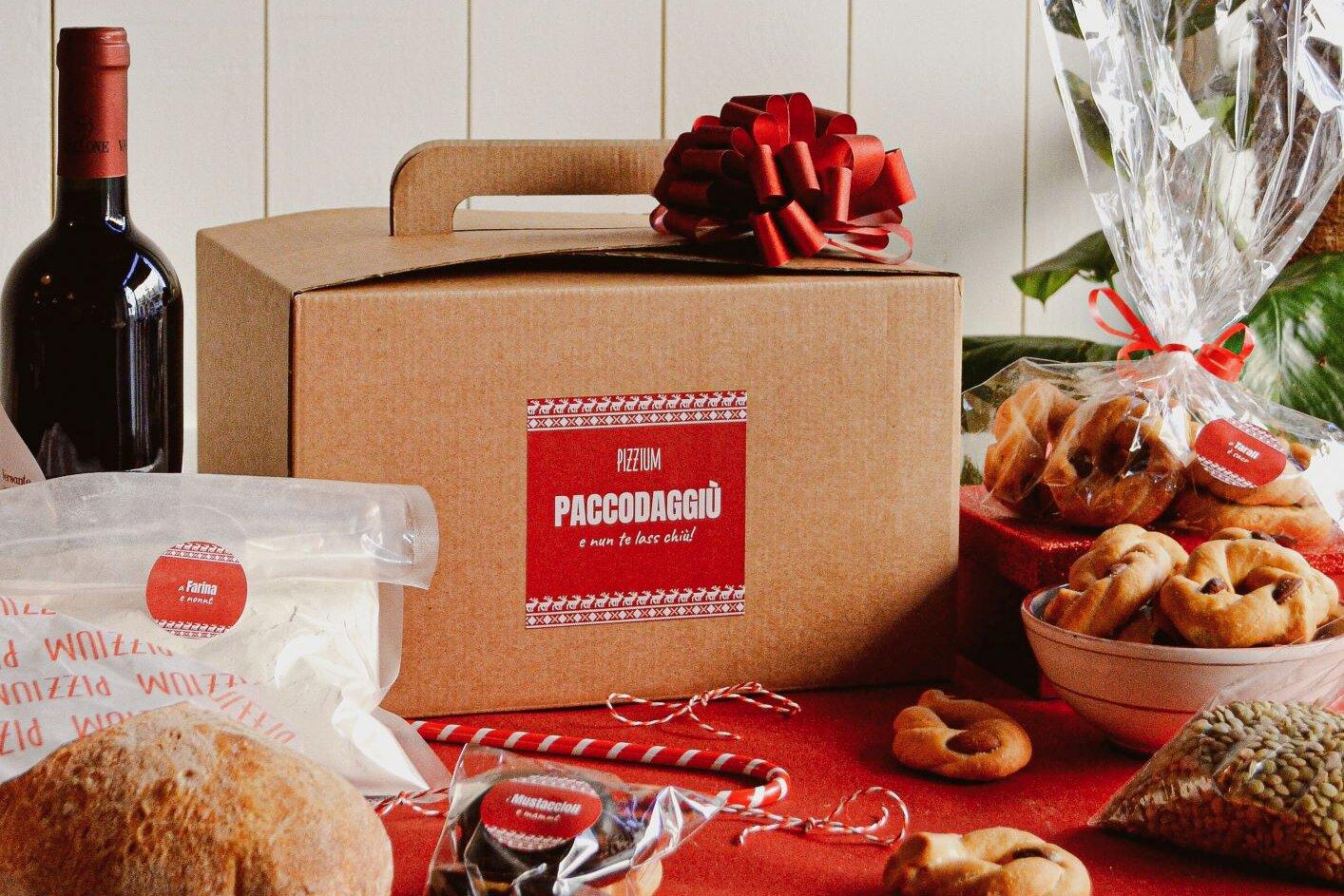 A Natale da Pizzium arriva… il Paccodaggiù!