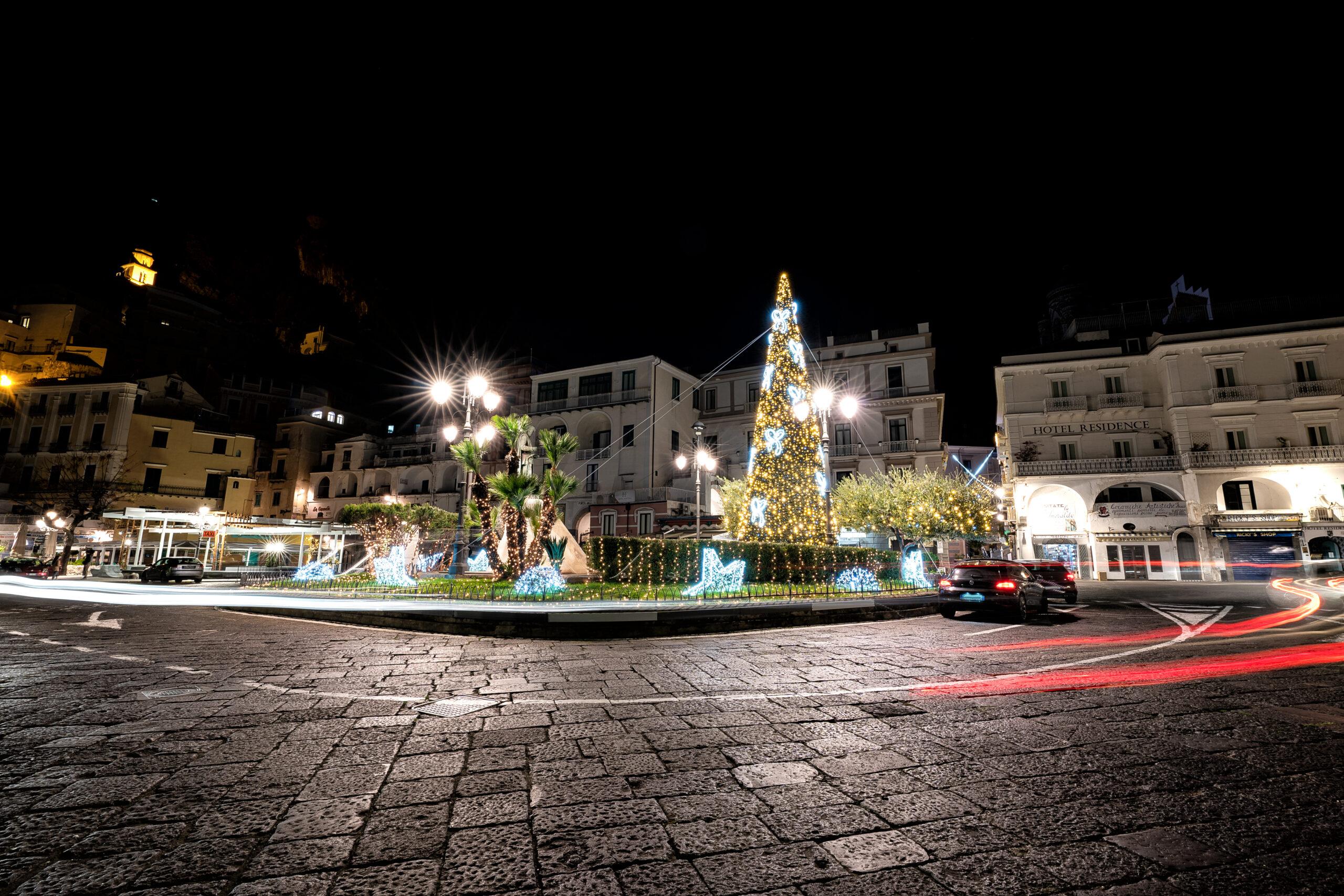 Il Natale digitale di Amalfi tra tecnologia e tradizione