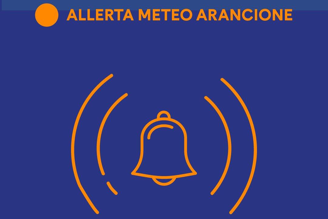Allerta Meteo Arancione sulla Campania