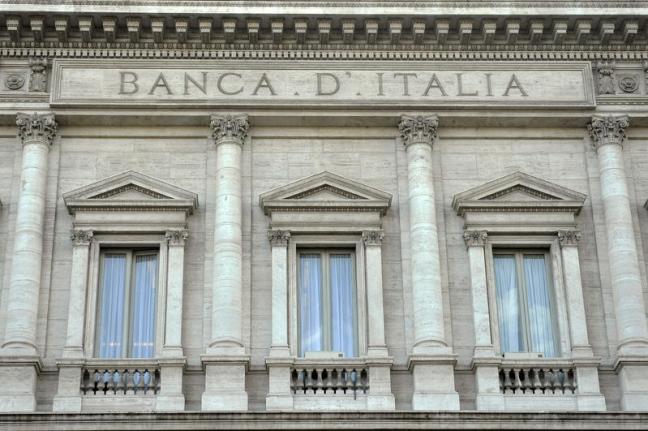 Bankitalia: debito sale ancora, nuovo record 2.587 mld