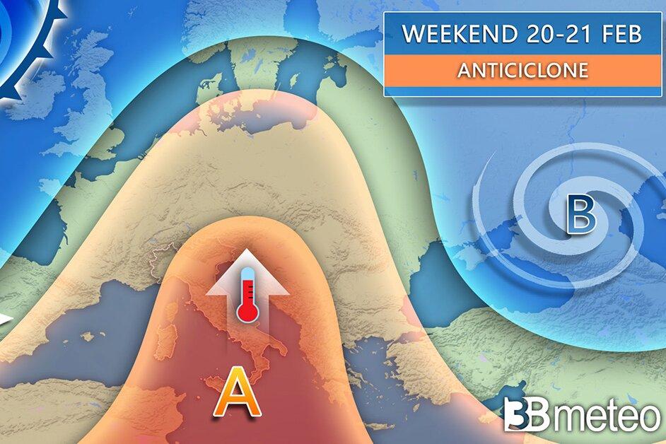 Meteo: assaggio di primavera dal weekend, arriva l'anticiclone africano