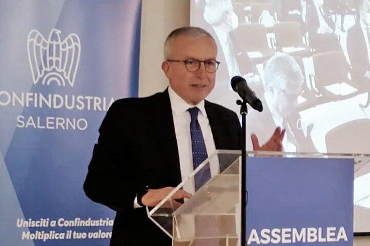 Antonio Ferraioli è il nuovo presidente di Confindustria Salerno