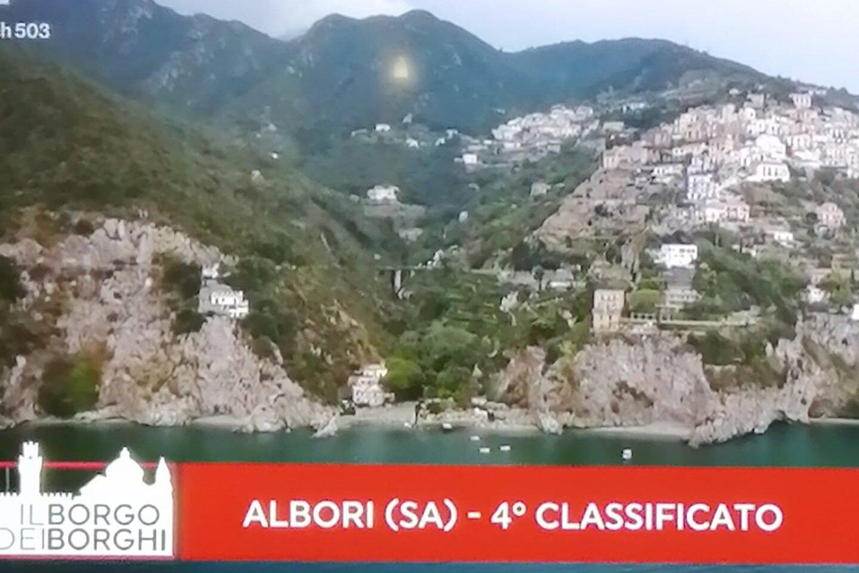 Borghi più Belli d'Italia, Albori di Vietri sul Mare sul podio