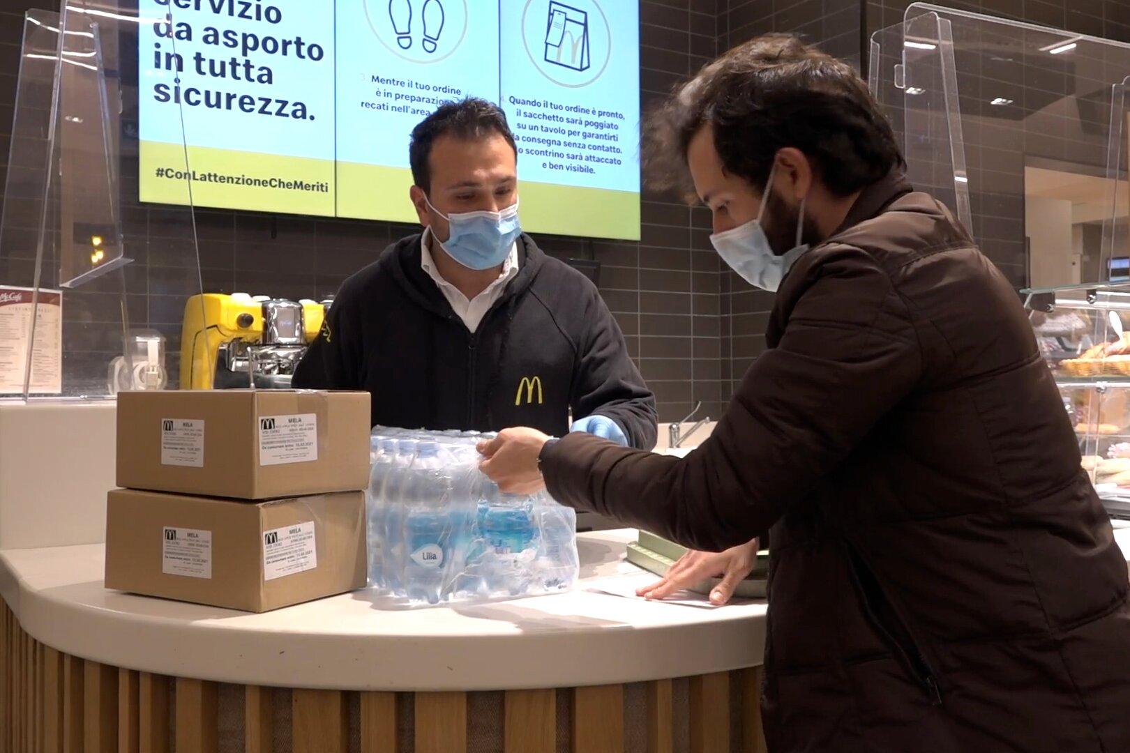 Sono 3.410 i pasti caldi donati da McDonald's tra Salerno e Potenza