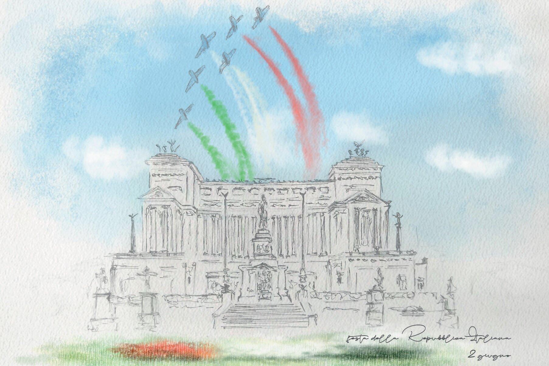 Poste Italiane: una cartolina per la Festa della Repubblica